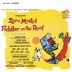 Fiddler On The Roof - 1LPs 180g 33rpm - Analog Spark