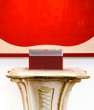 GENEVA® Touring S - Tragbares Radio mit FM/DAB+ Tuner - Rot – Bild 2