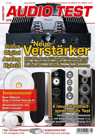 AUDIO TEST - Stereo | Streaming | High End - Ausgabe 1-2018