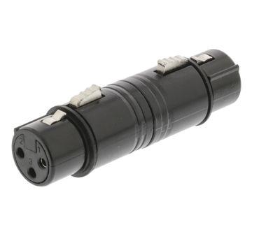 Sweex Adapter - XLR 3pol Kupplung auf XLR 3pol Kupplung – Bild 1