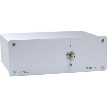 Dodocus UBox3 - 2-fach Verstärkerumschalter - Silber – Bild 1
