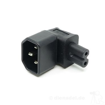 Power Adapter 90° - C7 | C14 – Bild 1