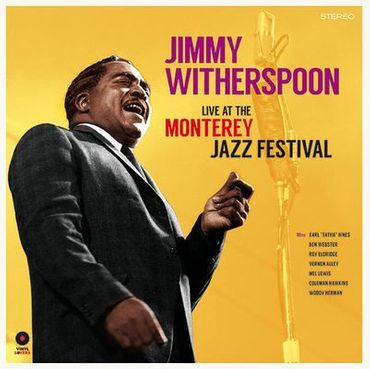 Jimmy Witherspoon - Live At Monterey Jazz Festival - 180 gramm LP - Vinyl Lovers