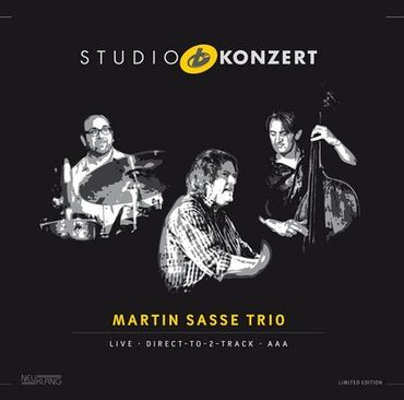 Martin Sasse Trio - Studio Konzert - 180gramm VINYL-LP - Neuklang
