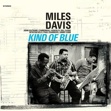 Miles Davis - Kind Of Blue - 180gramm VINYL-LP in BLAU - WaxTime Records – Bild 2