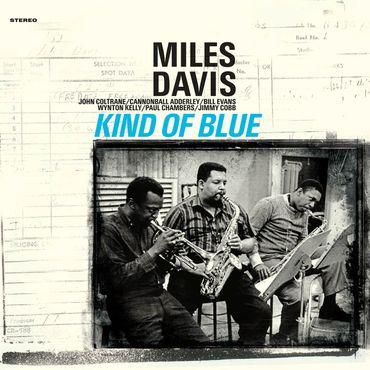 Miles Davis - Kind Of Blue - 180gramm VINYL-LP in BLAU - WaxTime Records – Bild 2