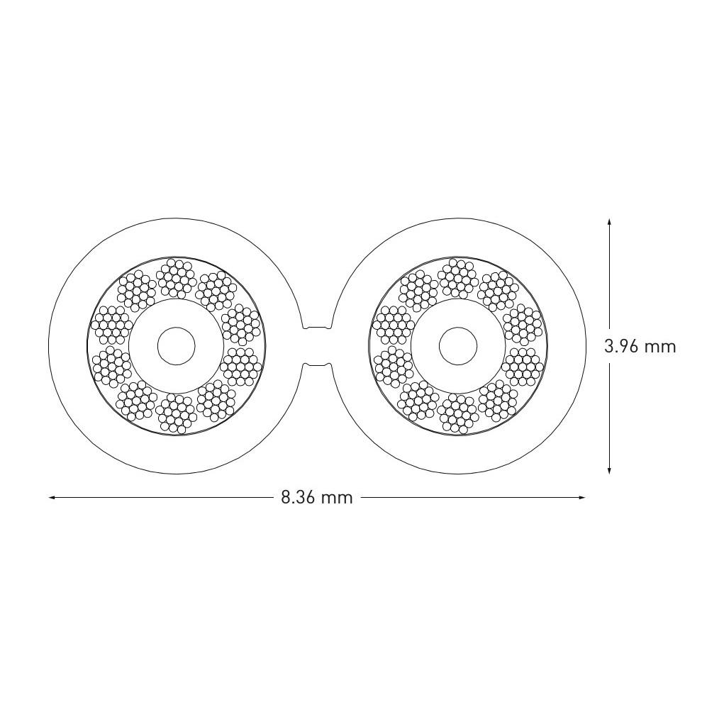 Qed Performance Xt25 Lautsprecherkabel Meterware Wiring Diagram Bild 3