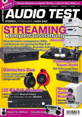 AUDIO TEST - Stereo | Streaming | High End - Ausgabe 3-2018