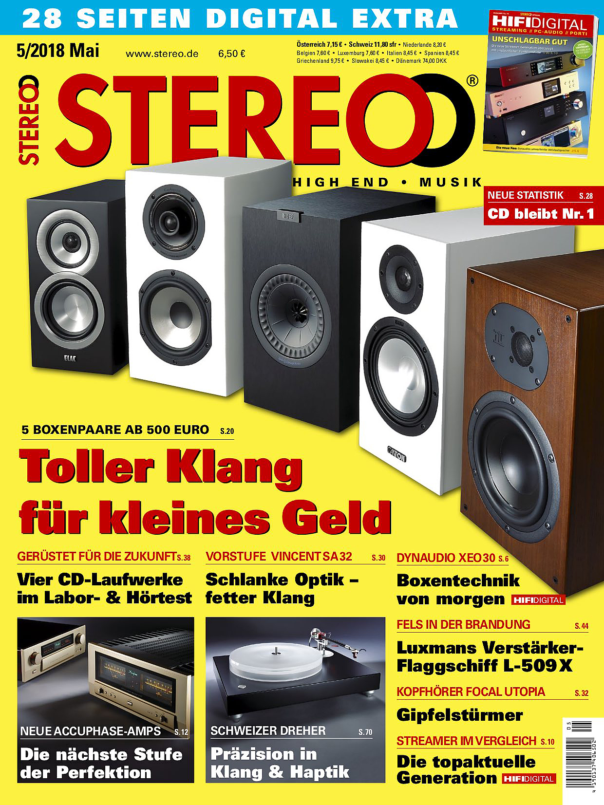 Stereo Ausgabe 5 2018 Project 116 Subwoofer Amp