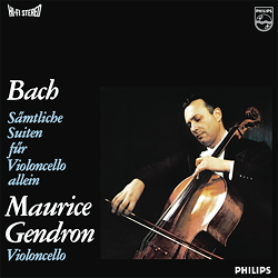 Bach: 6 Cello Suites - 3LPs 180g 33rpm - Analogphonic