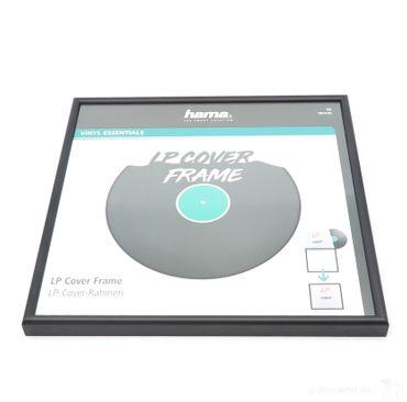 Hama LP-Cover-Rahmen aus Aluminium Schwarz – Bild 1