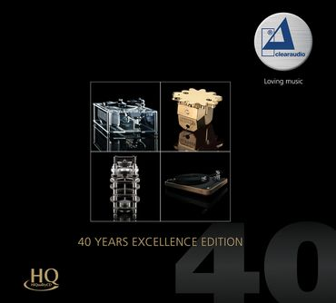 Clearaudio - 40 Years Excellence Edition (HQCD) - inakustik CD