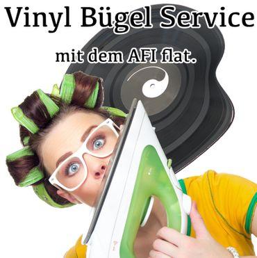 Schallplatten Bügel Service inklusive Reinigung – Bild 1