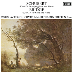 Schubert / Bridge: Sonatas - 1LPs 180g 33rpm - Analogphonic