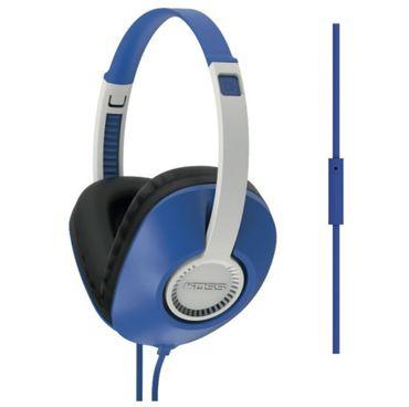 Koss® UR23I Blau - Geschlossener Kopfhörer mit Mikrofon