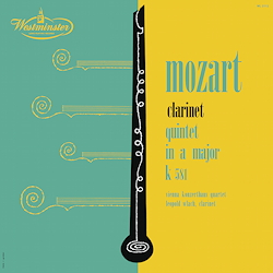 Mozart: Clarinet Quintet - 1LPs 180g 33rpm - Analogphonic