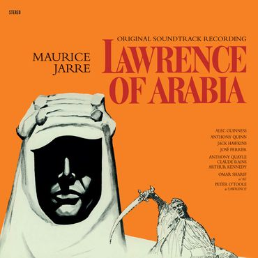 Lawrence Of Arabia - 180gramm VINYL-LP in Rot - WaxTime Records – Bild 2
