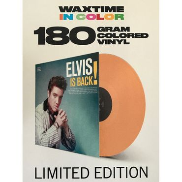 Elvis Presley - Elvis is Back - 180gramm VINYL-LP in Orange - WaxTime Records – Bild 1