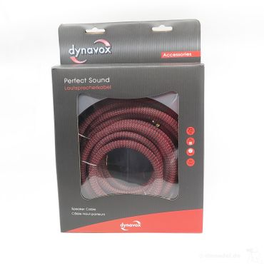 Dynavox Perfect Sound Lautsprecherkabel - 2 x 5,00 Meter