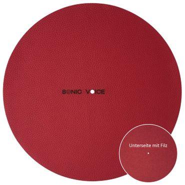 SONIC VOICE Classic red Plattentellerauflage – Bild 1