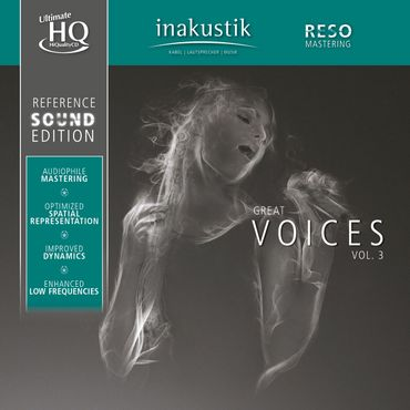 Reference Sound Edition - Great Voices - Volume III - UHQCD - inakustik CD