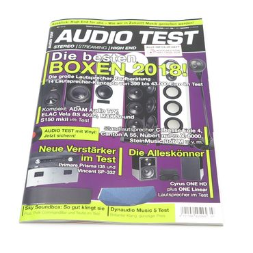 AUDIO TEST - Stereo | Streaming | High End - Ausgabe 7-2018