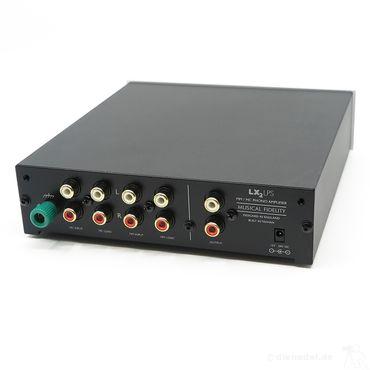 Musical Fidelity LX² LPS  Silber MM/MC Phono Vorverstärker – Bild 2