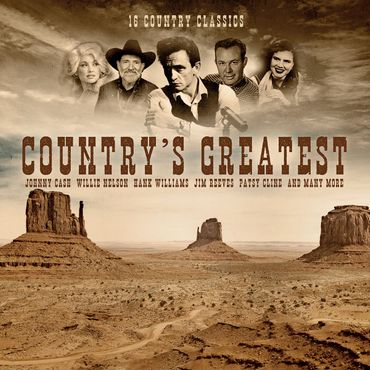 Country´s Greatest - 1LPs 180gramm - Bellevue Entertainment
