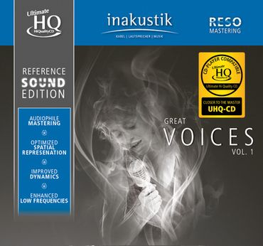 Reference Sound Edition - Great Voices - UHQCD - inakustik CD