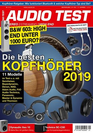 AUDIO TEST - Stereo | Streaming | High End - Ausgabe 1-2019