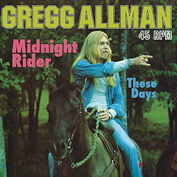 Gregg Allman: Midnight Rider a.o. - 1LP - 180g - 45rpm - Acoustic Sounds