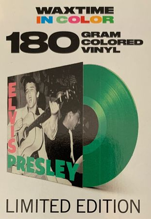 Elvis Presley - Debut Album - 180gramm LP in Grün - WaxTime in Color