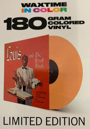 Louis Armstrong - Louis & The Good Book - 180gramm LP in Orange - WaxTime in Color