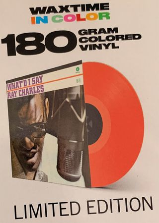 Ray Charles - Whatd I Say - 180gramm LP in Rot - WaxTime in Color