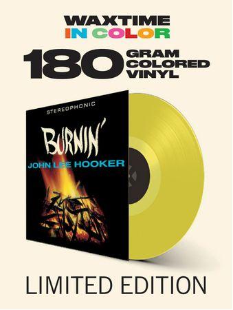 John Lee Hooker - Burnin - Vinyl in Gelb - 180gr. - WaxTime in Color