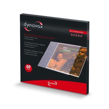 Dynavox Schallplatten Aussenhüllen - 50er Pack – Bild 3
