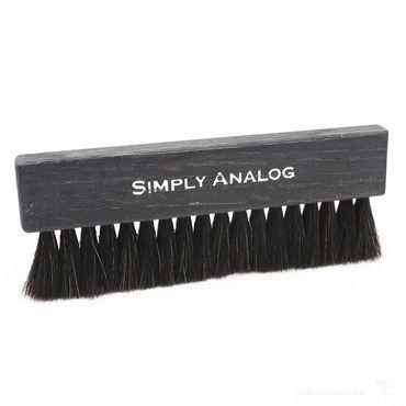 Simply Analog Record Brush Ziegenhaar Plattenbürste - | Black Wooden