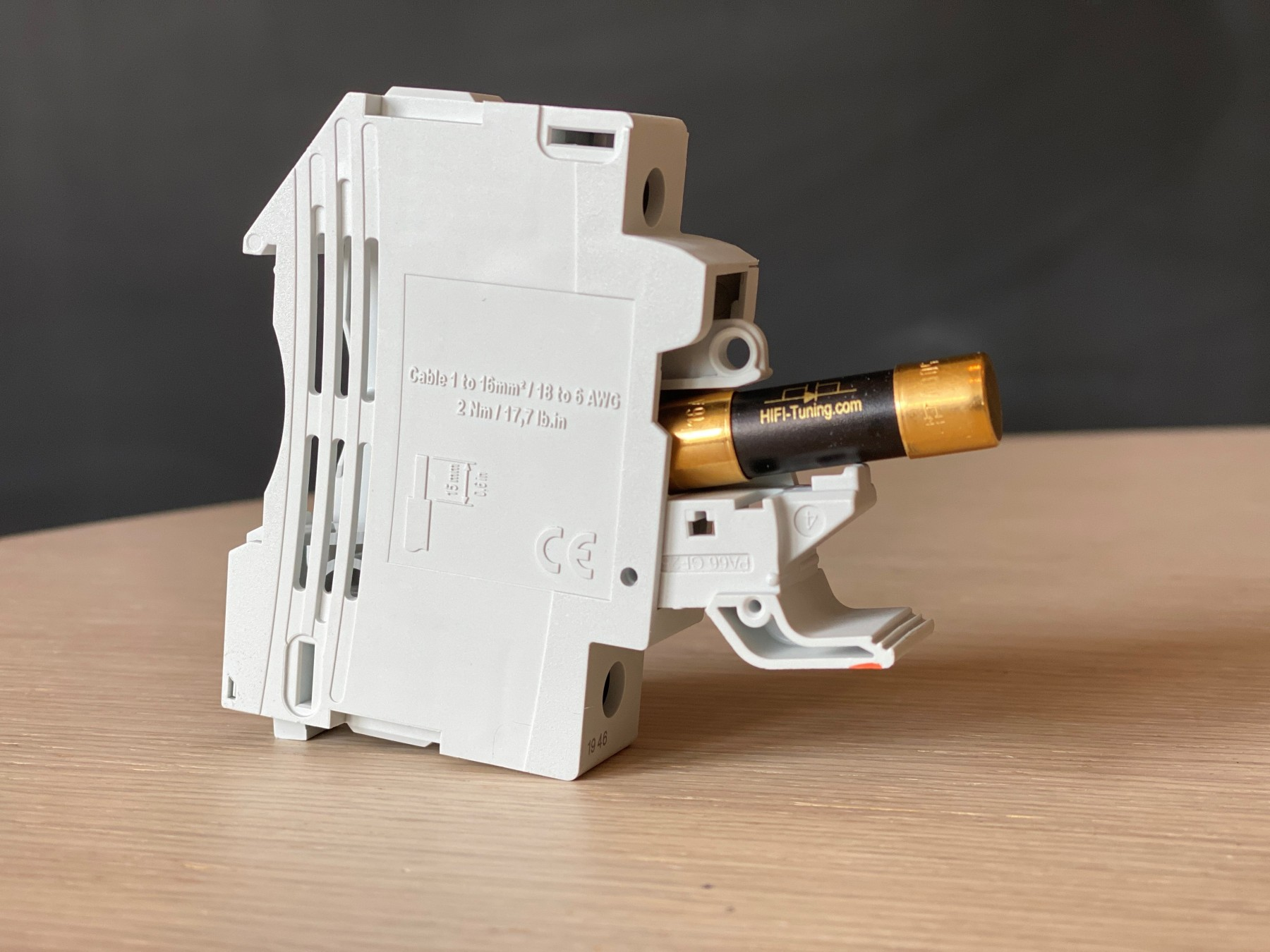 Silber-Gold F T + träge HiFi-Tuning Feinsicherung US-Supreme³ 6,3x32mm flink