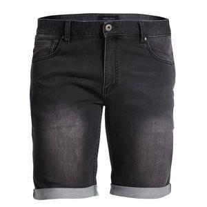 Replika by Allsize Jeans Stretch Shorts schwarz used wash