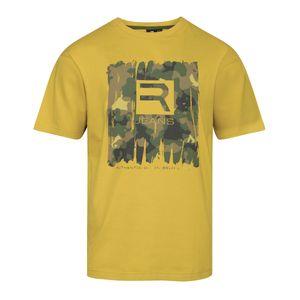 XXL Replika by Allsize Print T-Shirt senfgelb