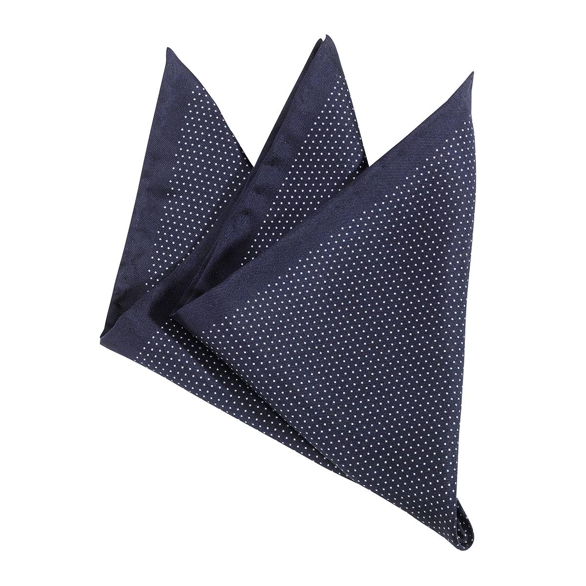 beste Schuhe Genieße den reduzierten Preis vielfältig Stile Olymp dunkelblaues Einstecktuch mit feinen Punkten