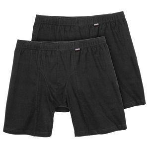 Adamo XXL Pants längeres Bein Doppelpack Jim schwarz