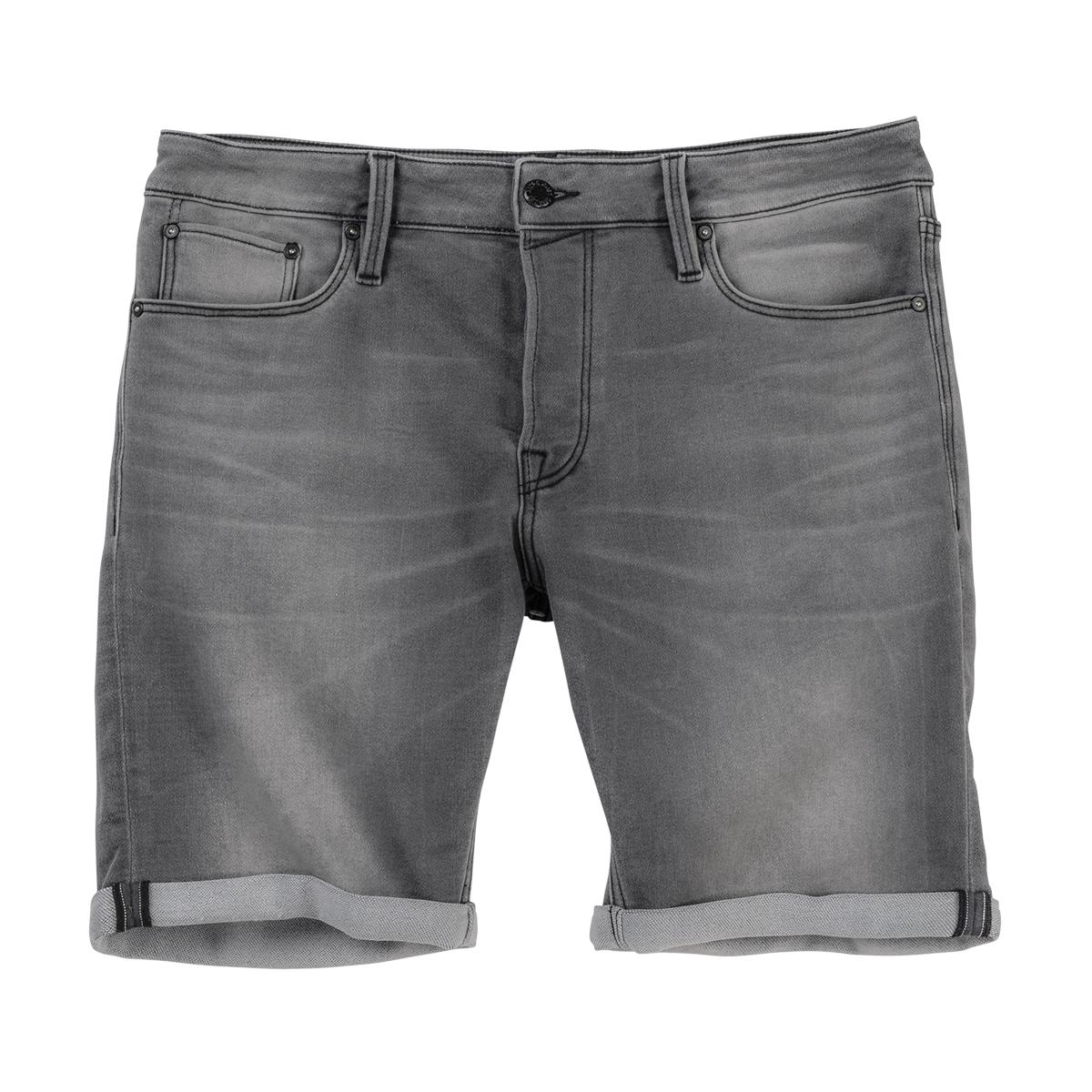 new products e4c20 9ca36 Jack & Jones Stretch-Jeansshorts grau used