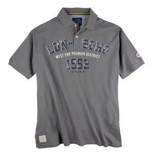 Redfield modisches Poloshirt grau