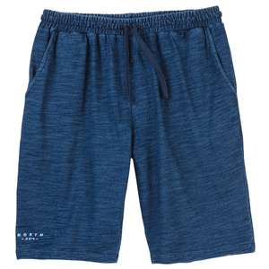 North 56°4 by Allsize blau Denim-Look Sweatshorts XXL