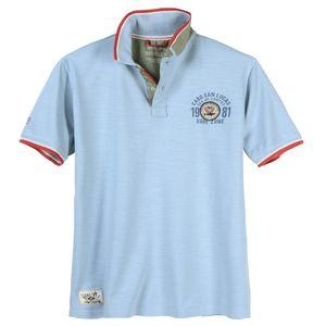 Redfield hellblaues Poloshirt große Größen modisch
