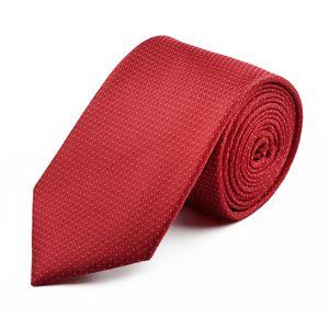 Venti Krawatte Überlänge rot strukturiert