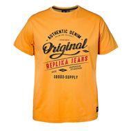 Replika by Allsize T-Shirt Logoprint orange XXL 001