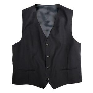 Gebr. Weis Stretch-Anzugweste schwarz große Größen