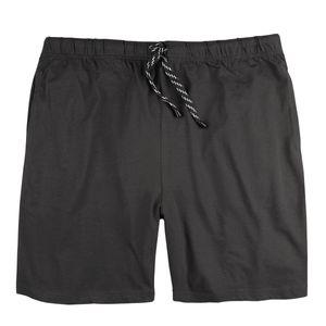 Adamo kurze Pyjamahose große Größen anthrazit
